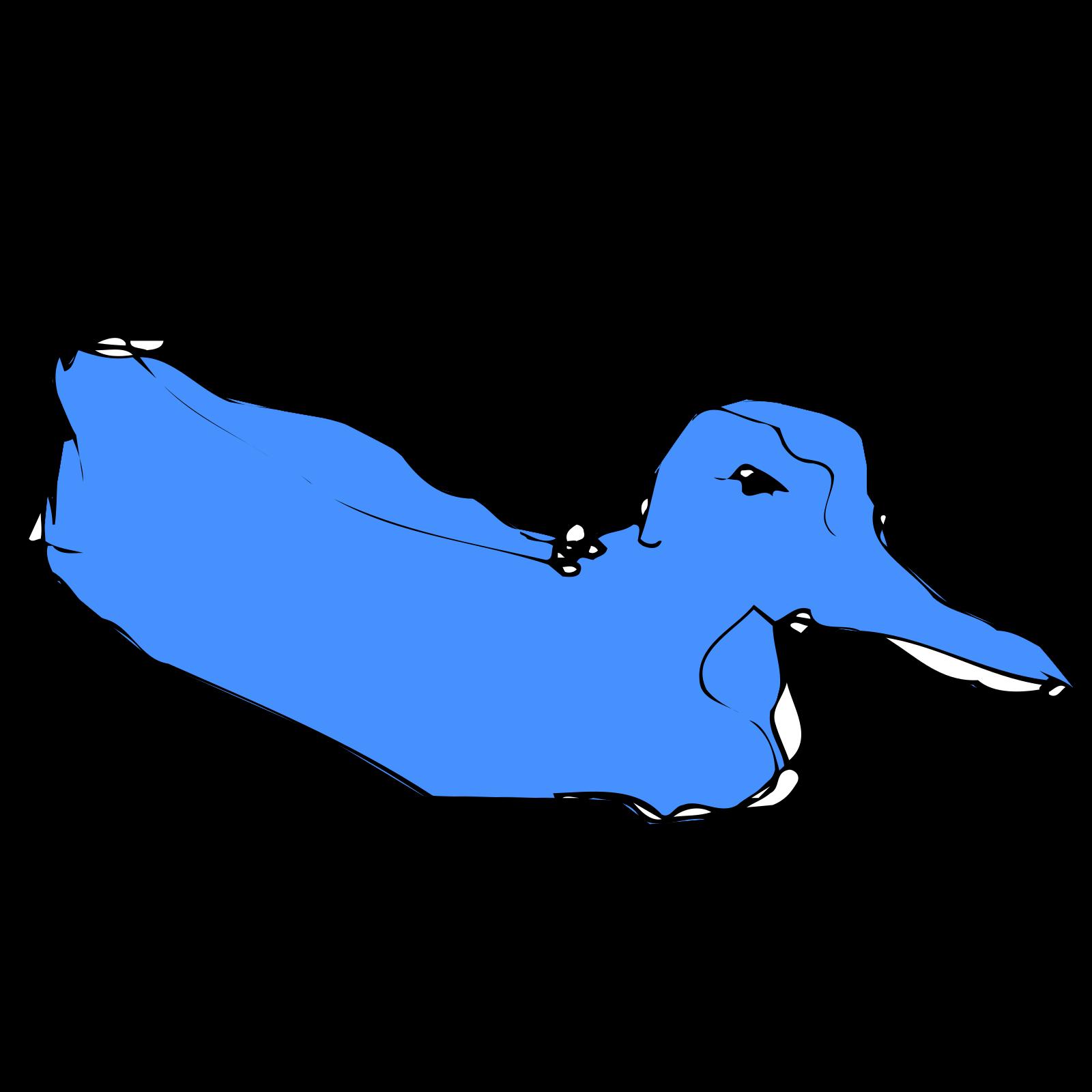 Simple Blue Duck Sketch Svg Vector Simple Blue Duck Sketch Clip Art Svg Clipart