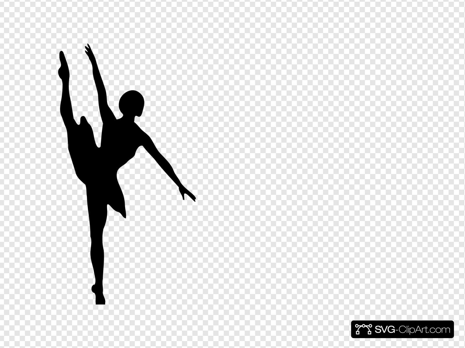 Black Ballet Dancer Svg Vector Black Ballet Dancer Clip Art Svg Clipart