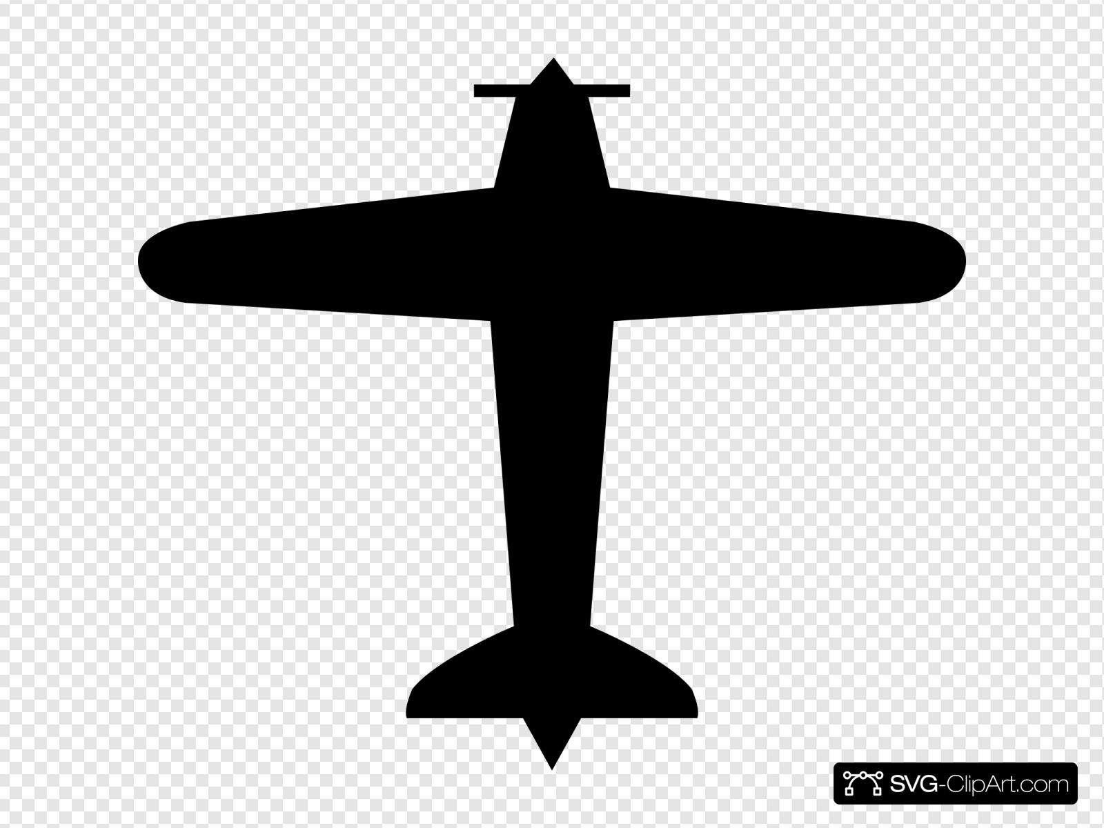 Airplane Svg Vector Airplane Clip Art Svg Clipart