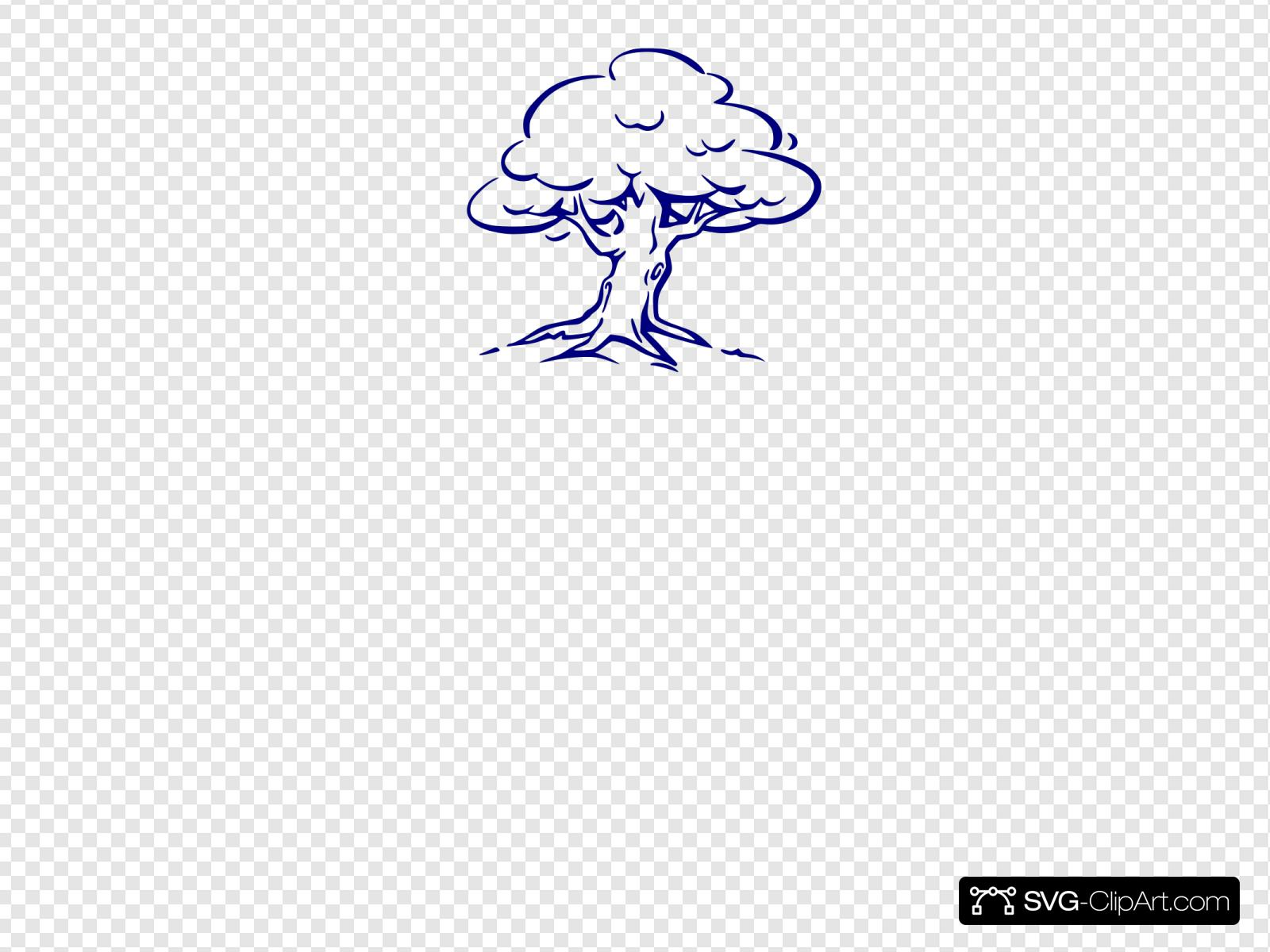 Family Tree Blue Svg Vector Family Tree Blue Clip Art Svg Clipart