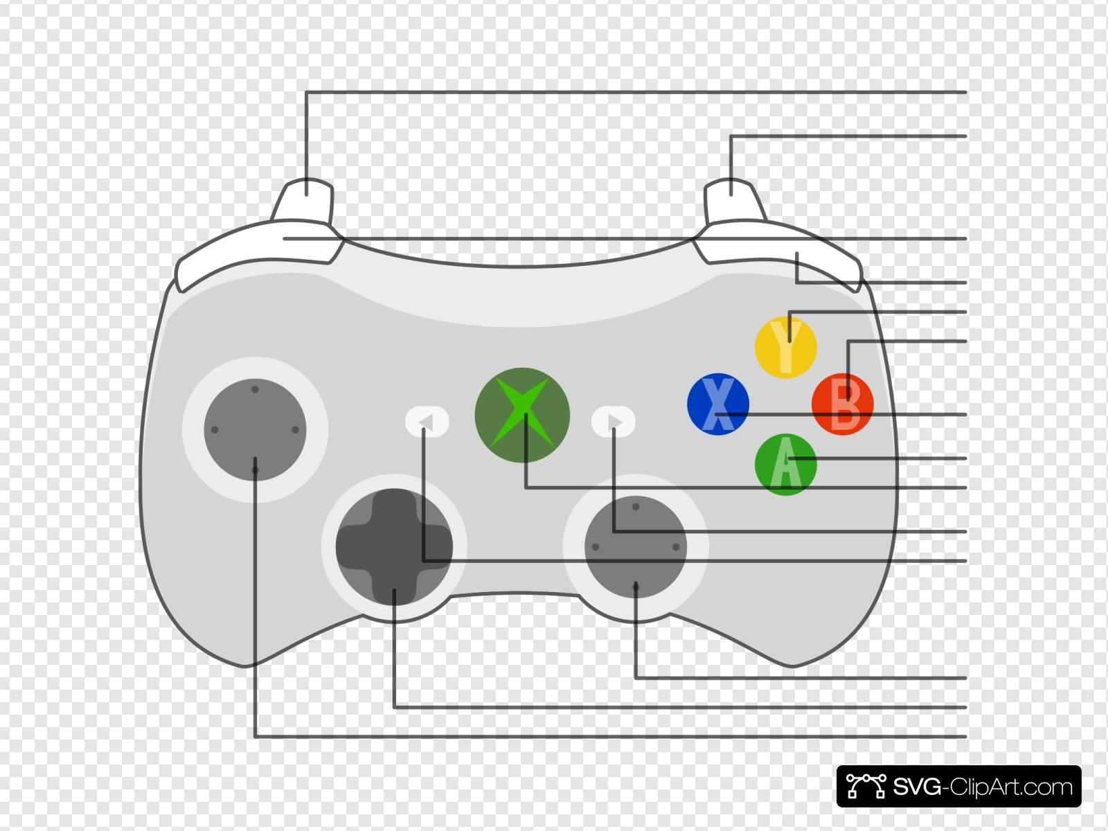 xbox 360 controller diagram - wiring diagrams data  ussel