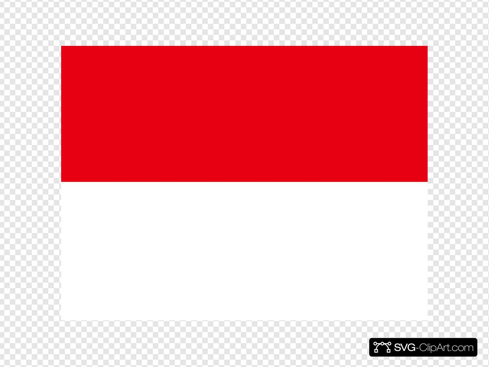 flag of indonesia svg vector flag of indonesia clip art svg clipart flag of indonesia svg vector flag of