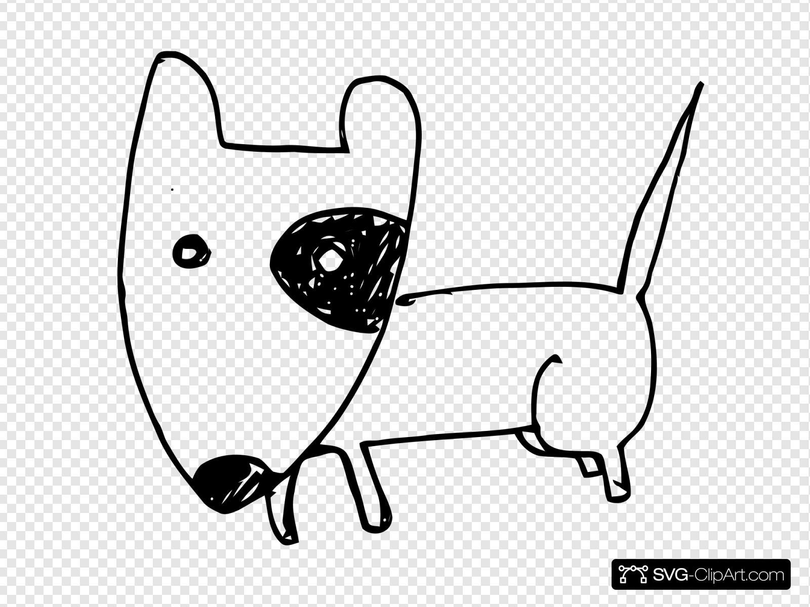 Bull Terrier Dog Svg Vector Bull Terrier Dog Clip Art Svg Clipart