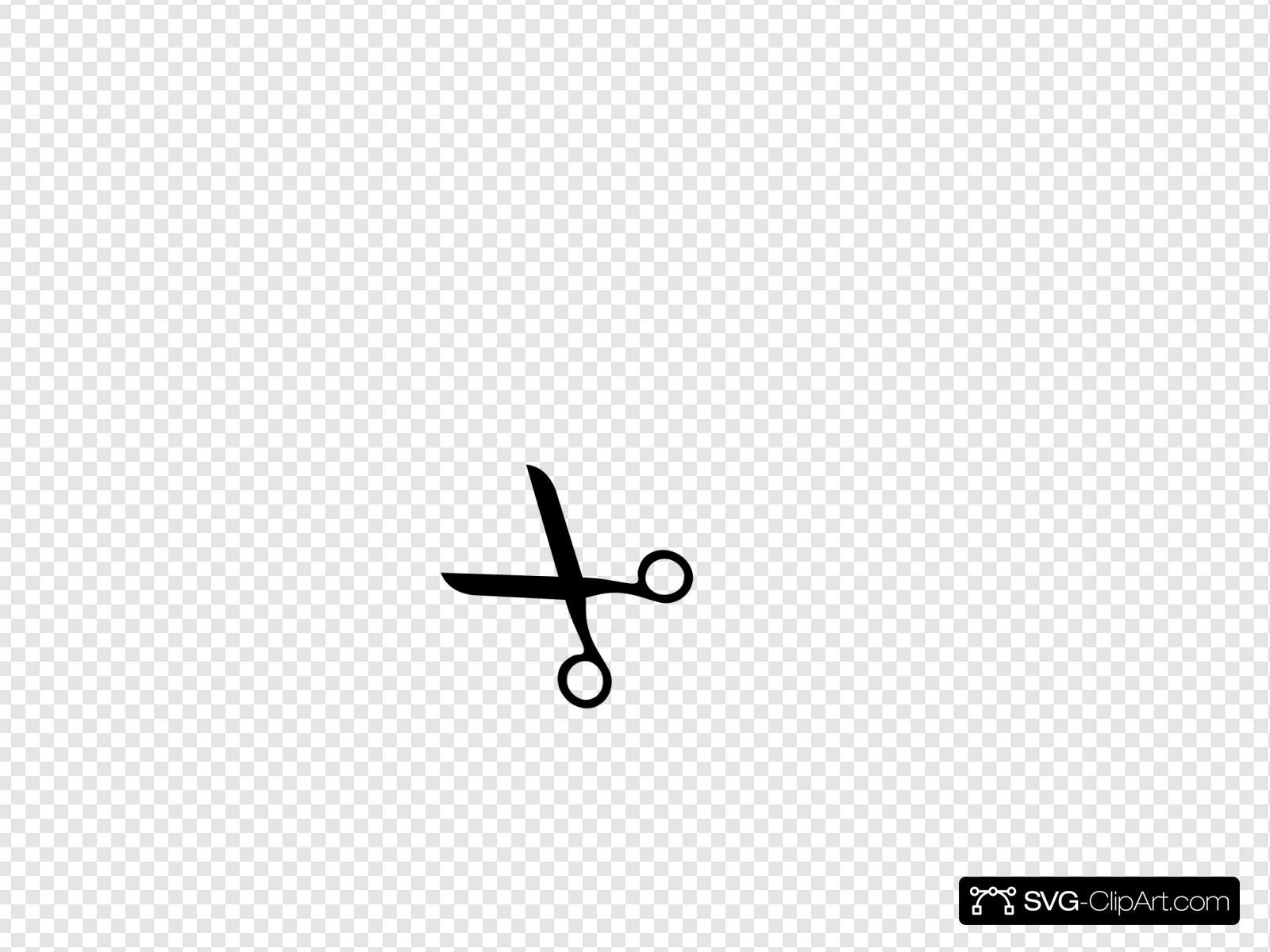Scissors Clip Art at Clker.com - vector clip art online, royalty free &  public domain