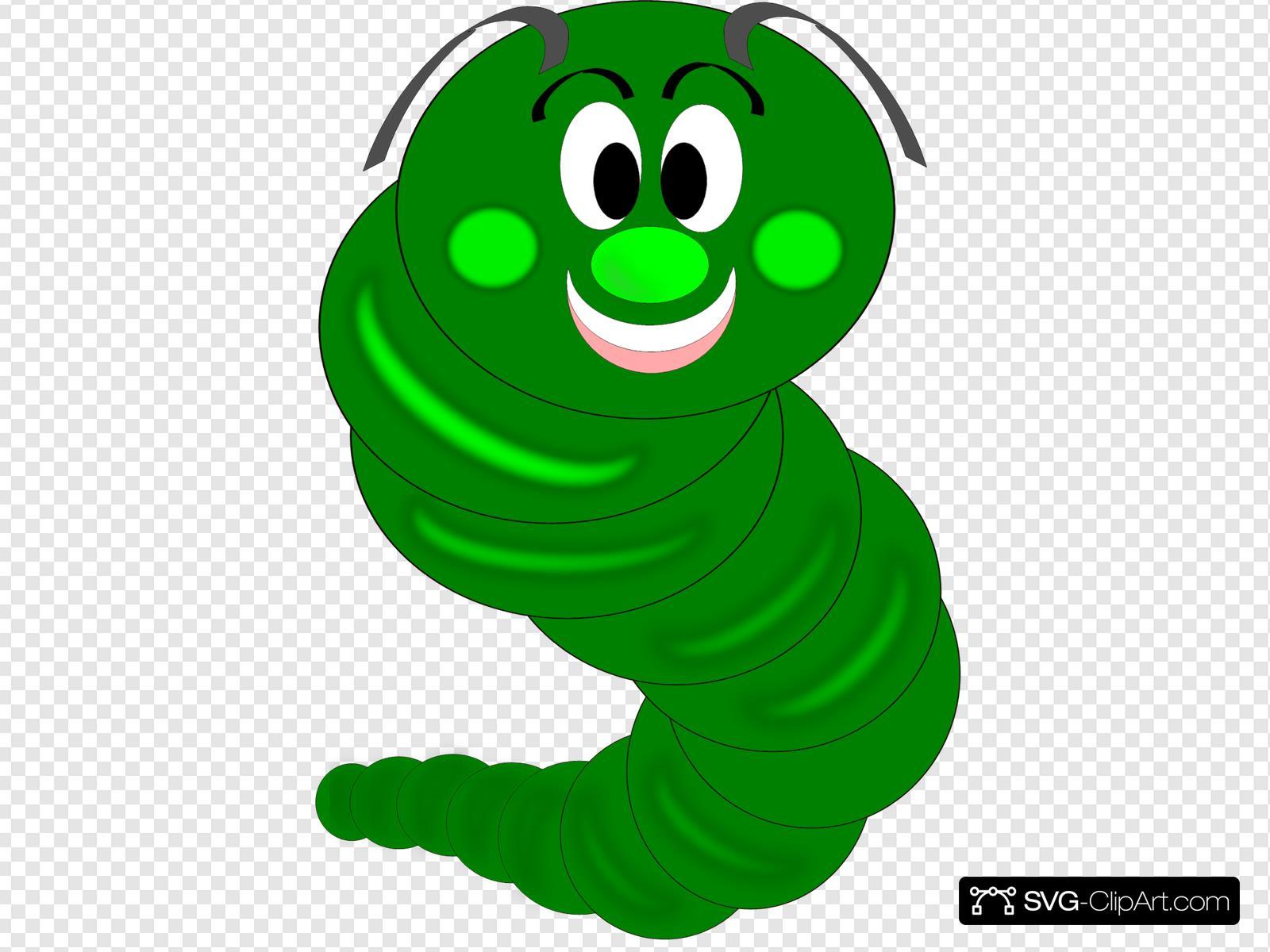 Cartoon Caterpillar Svg Vector Cartoon Caterpillar Clip Art Svg