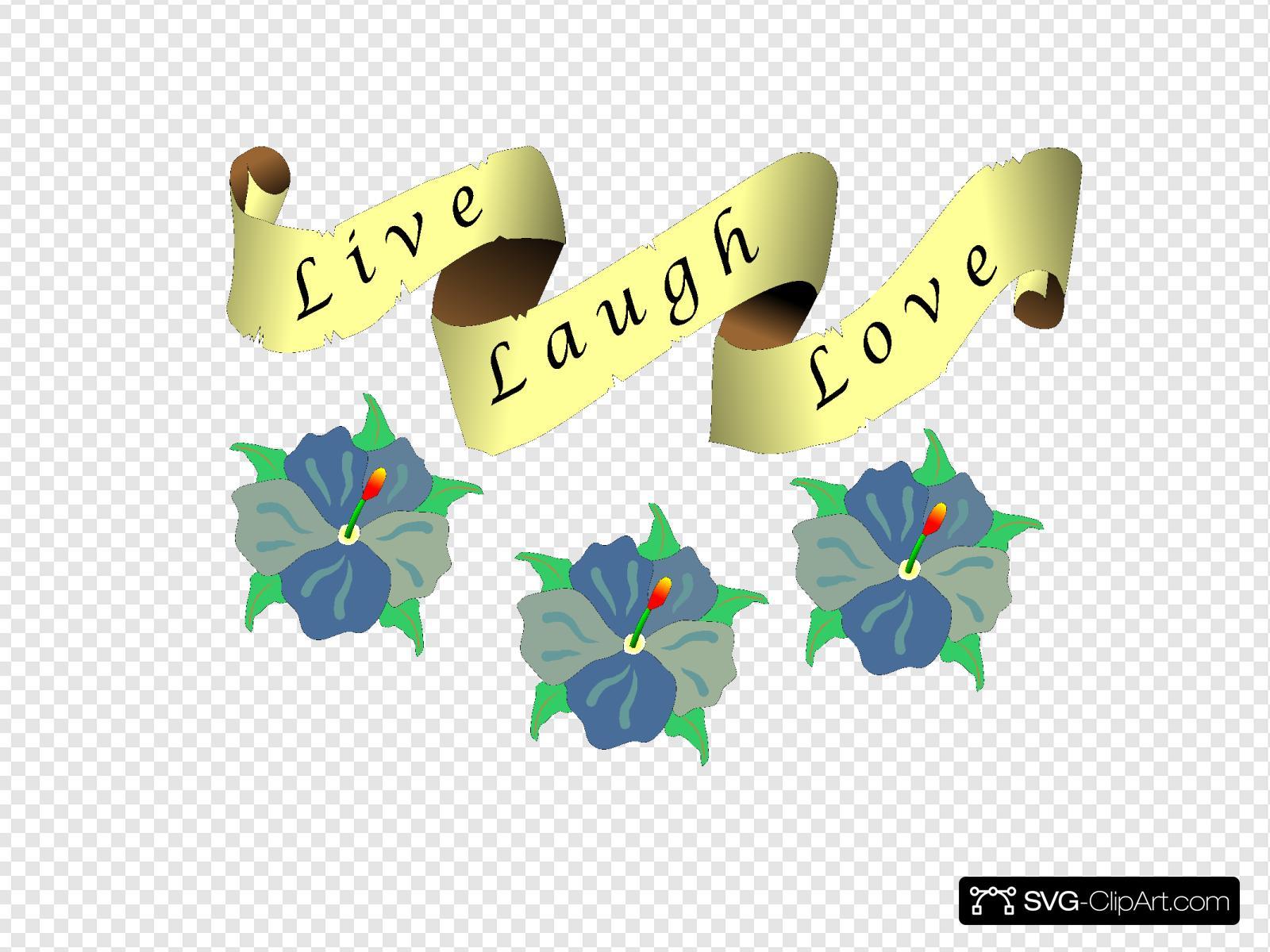 Live Laugh Love Svg Vector Live Laugh Love Clip Art Svg Clipart
