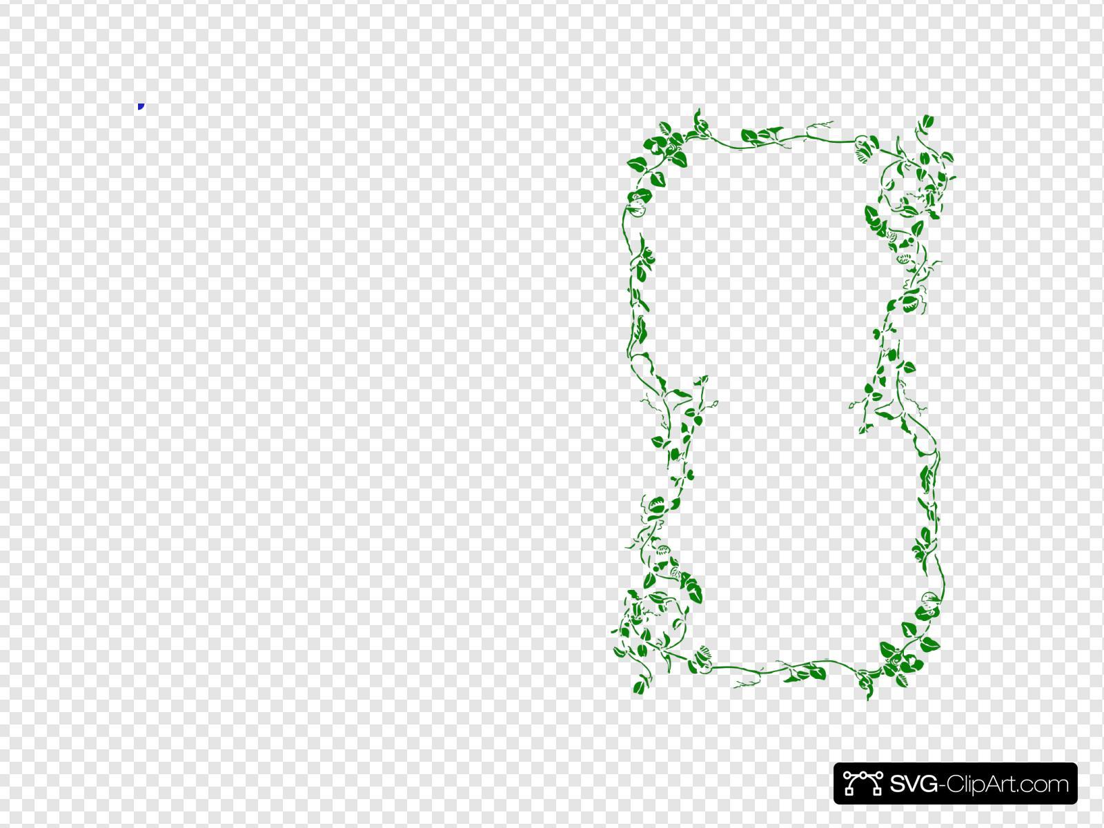 Ivy Border Clip Art - Royalty Free - GoGraph