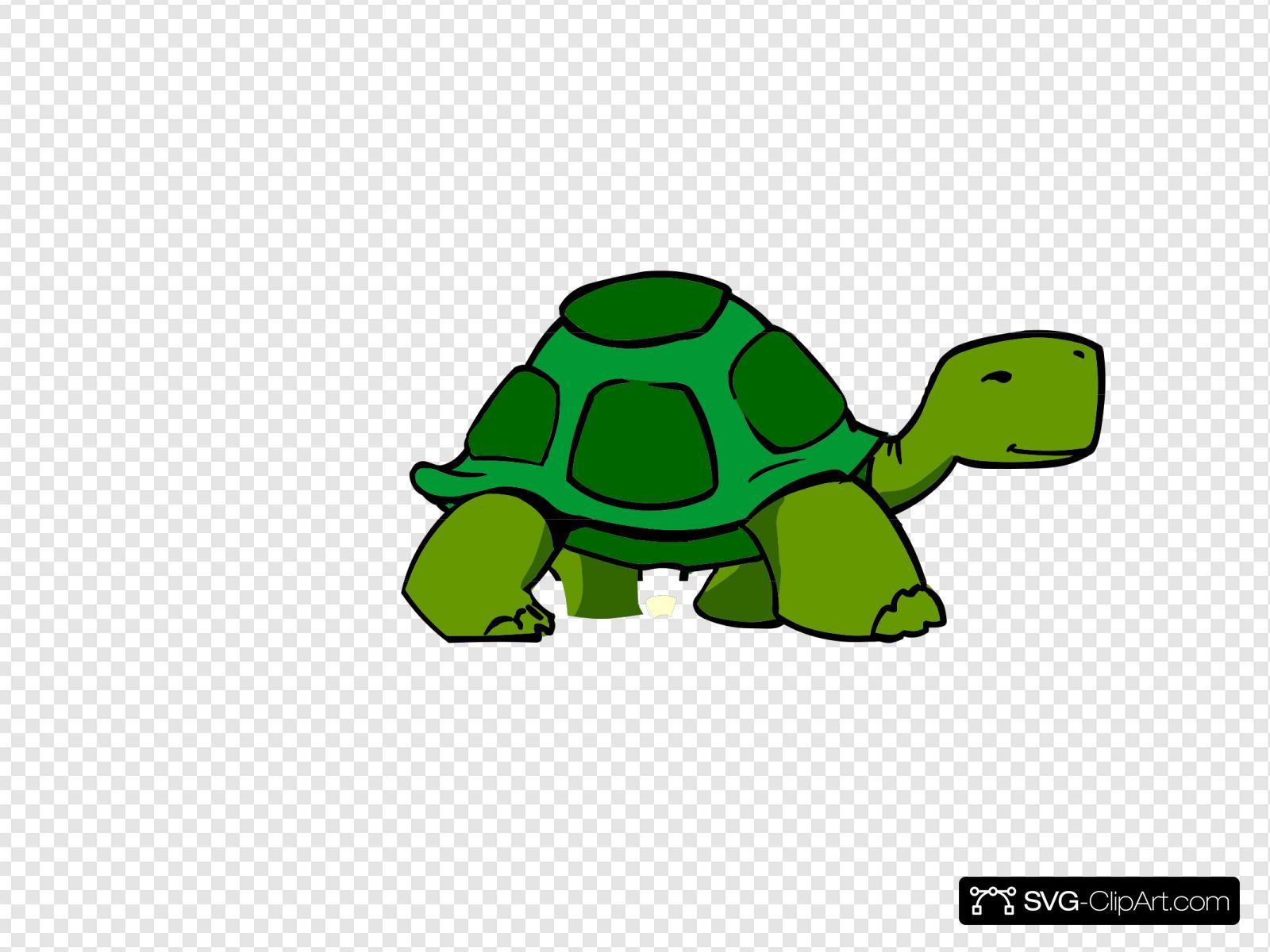Slow Turtle Clipart - Clip Art Bay