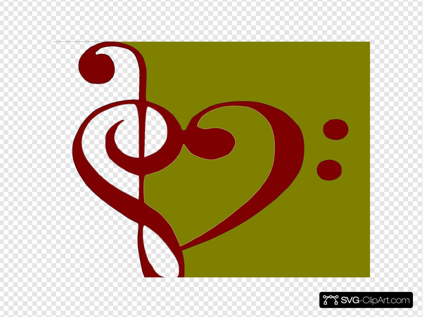 Bass Clef Treble Clef | Treble clef tattoo, Music tattoos, Treble clef heart