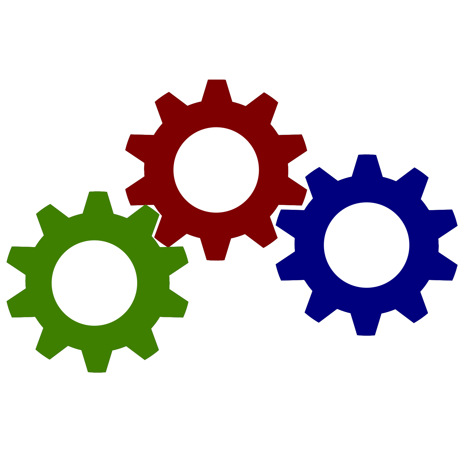 Gear Clip Art Icon And SVG SVG Clipart