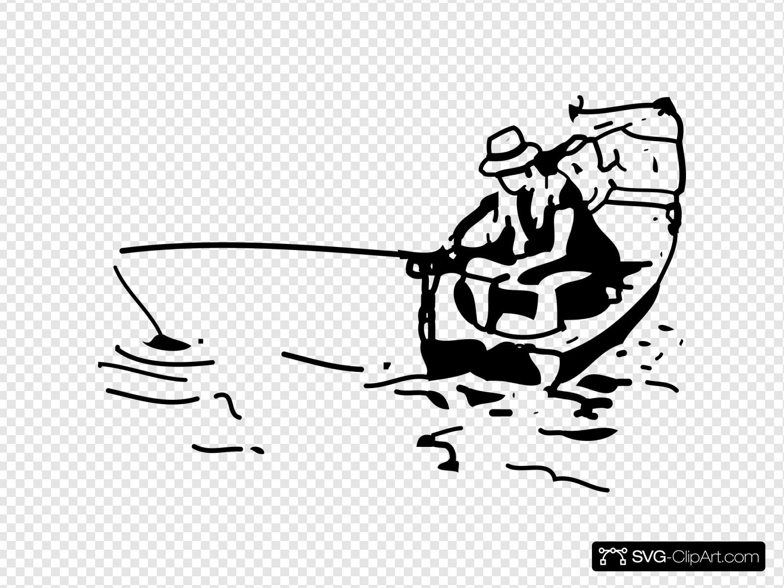 Download Man Fishing Svg Vector Man Fishing Clip Art Svg Clipart