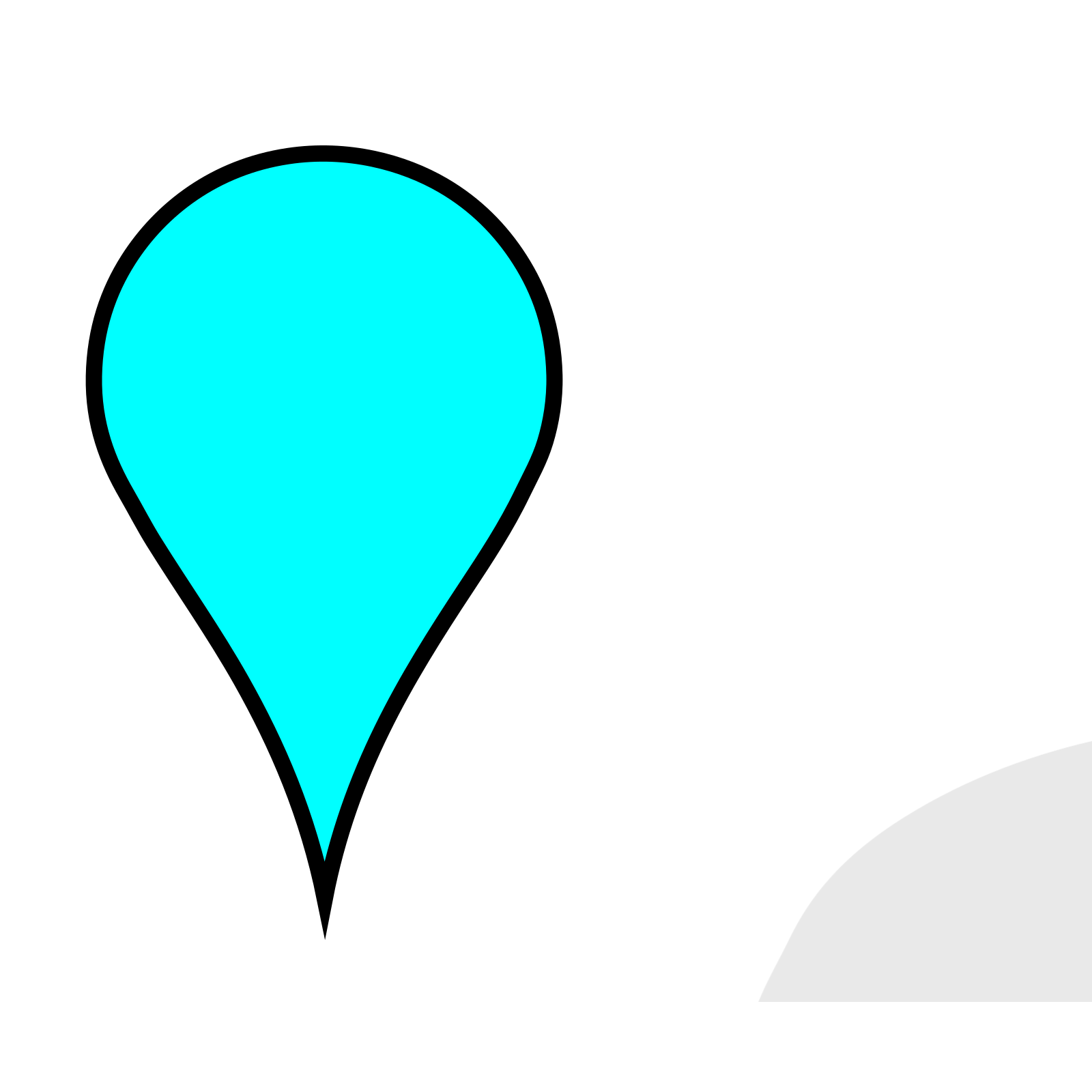 Google Maps Pin Svg Vector Google Maps Pin Clip Art Svg Clipart