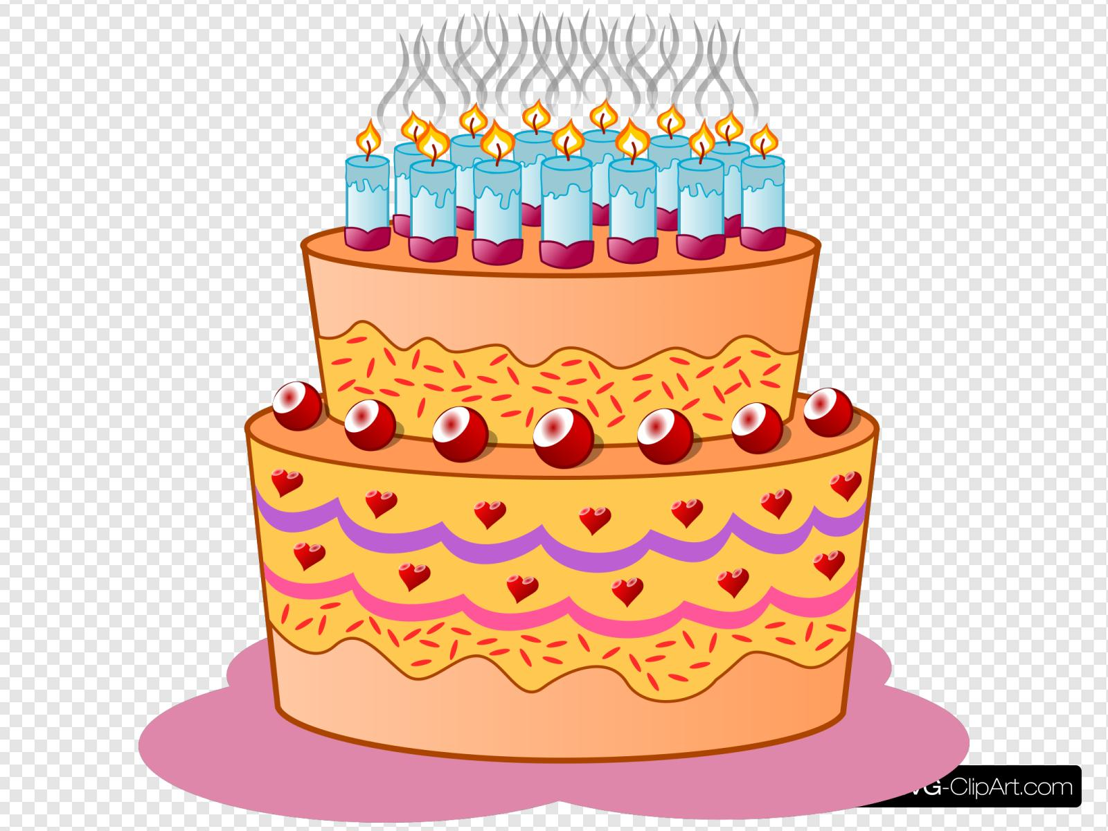 Swell Birthday Cake Clip Art Icon And Svg Svg Clipart Funny Birthday Cards Online Fluifree Goldxyz