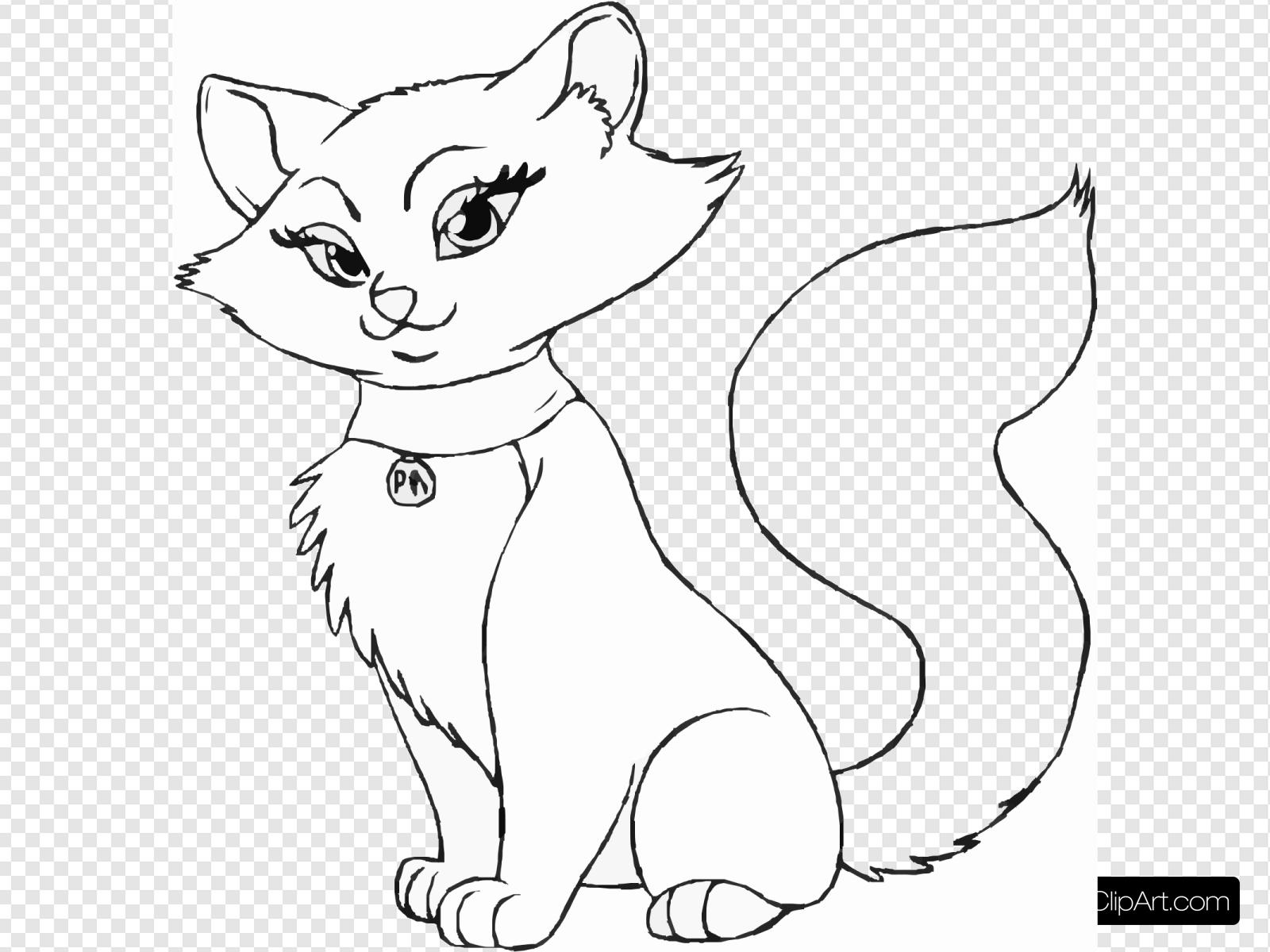 How To Draw A Cartoon Cat Step Svg Vector How To Draw A Cartoon Cat Step Clip Art Svg Clipart