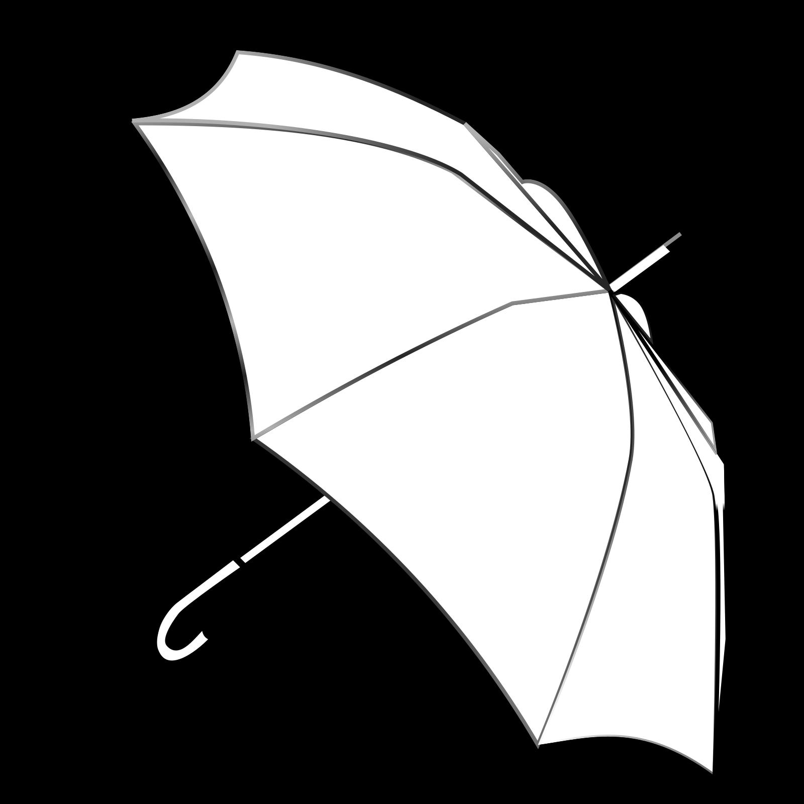 Umbrella Outline Svg Vector Umbrella Outline Clip Art Svg Clipart
