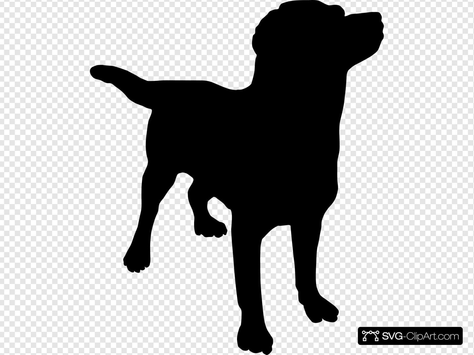 Dog Silhouette Stock Illustrations Cliparts And Royalty Free Dog