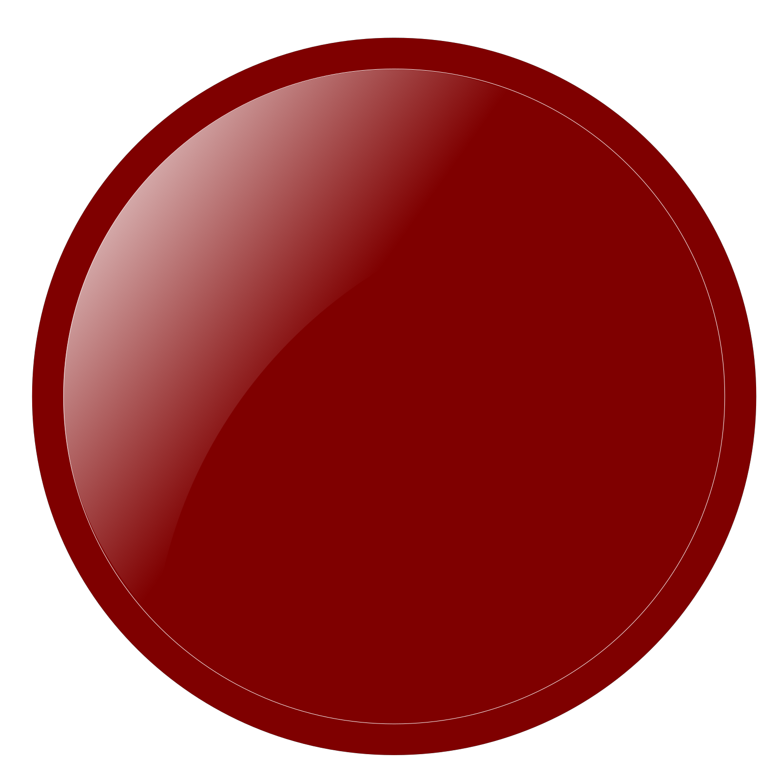 Red Circle Clip art, Icon and SVG - SVG Clipart