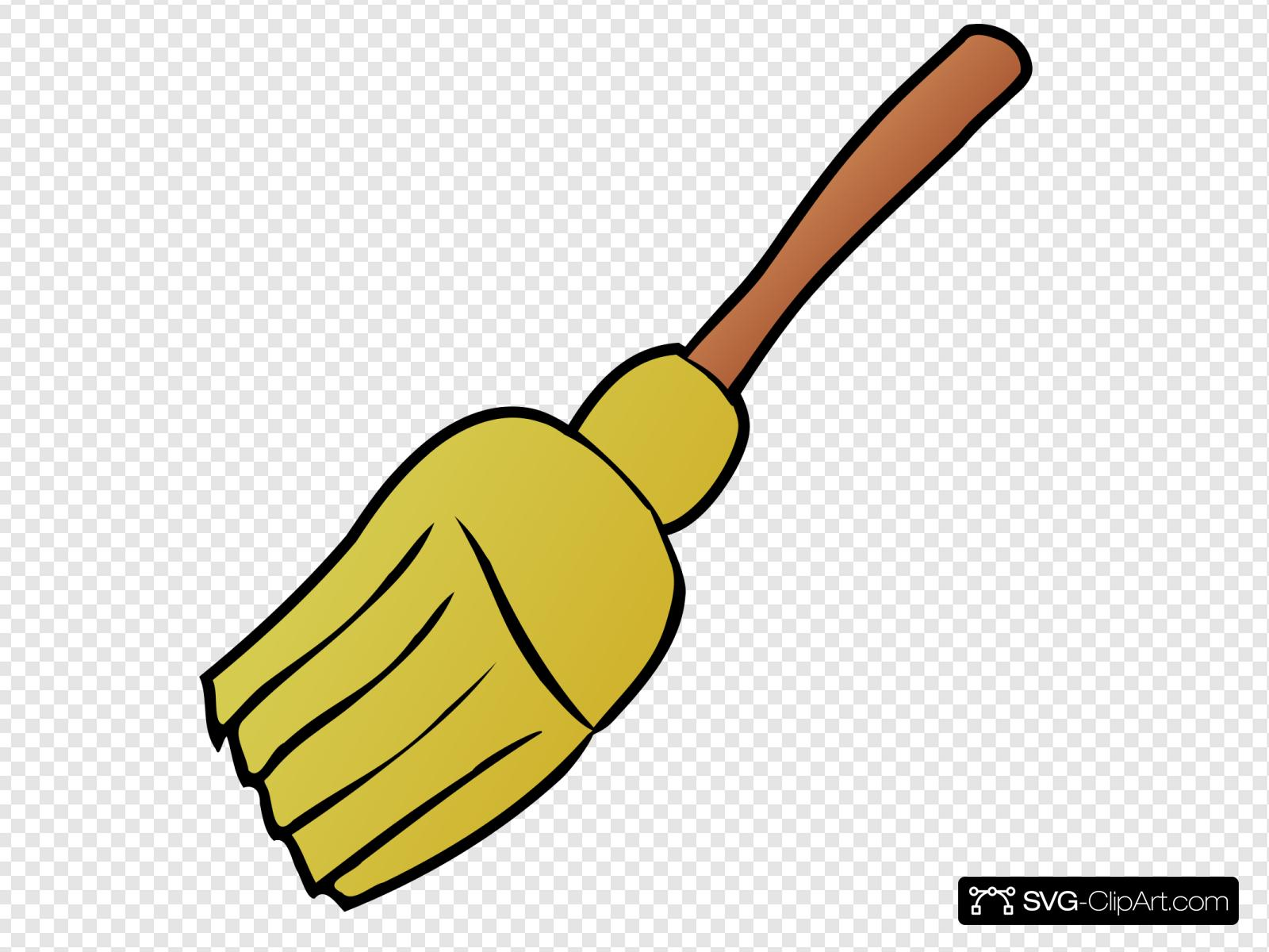 Broom Svg Vector Broom Clip Art Svg Clipart