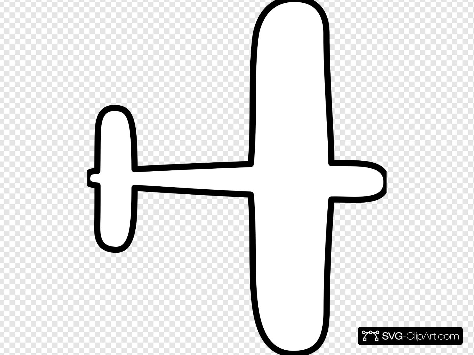 Airplane Outline Svg Vector Airplane Outline Clip Art Svg Clipart