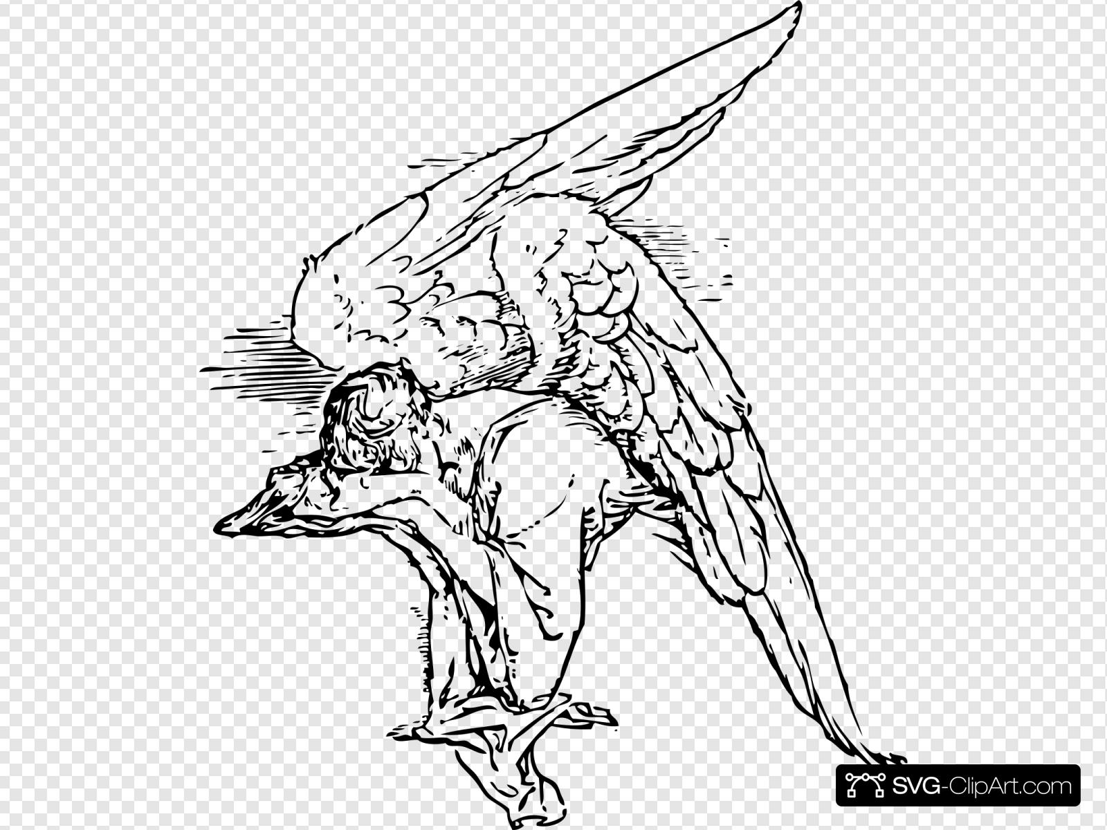 Grieving Angel Tattoo