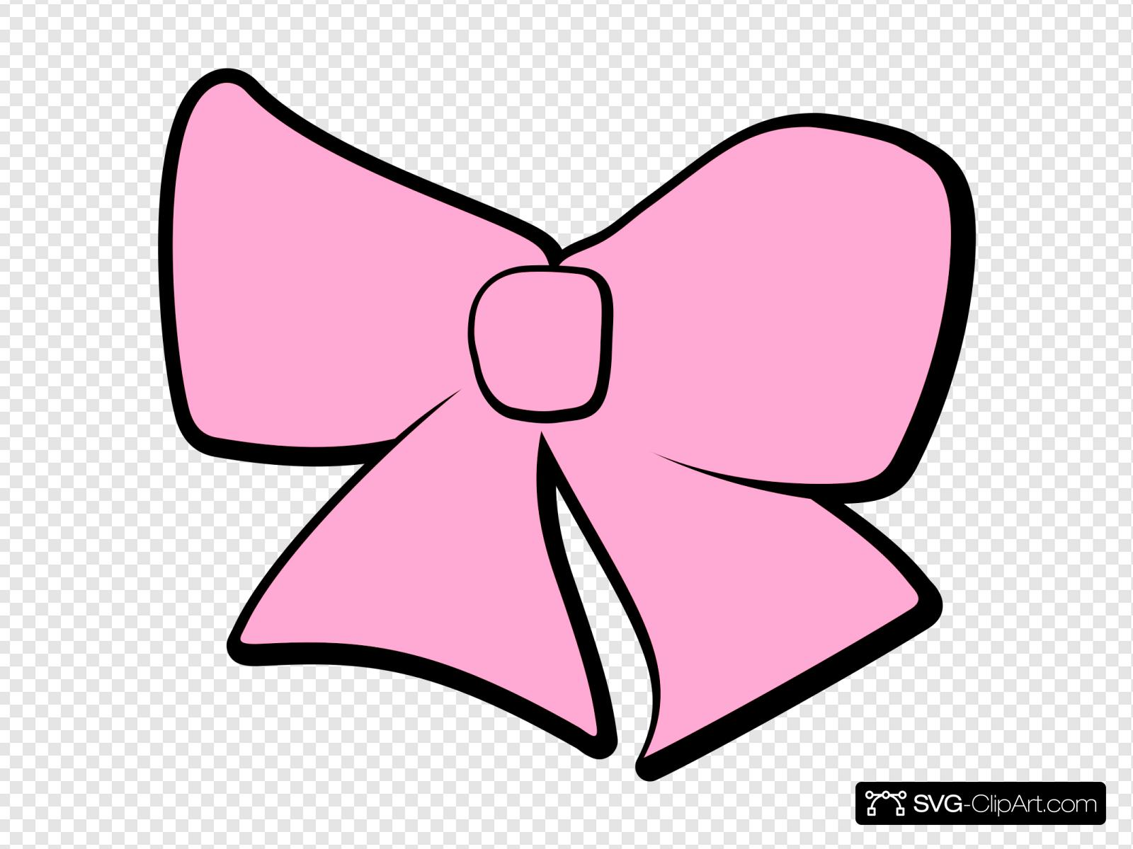 Pink Hair Bow At Clkercom Vector Online Royalty Clipart - Free Clip Art  Images | Free clip art, Bow clipart, Clip art