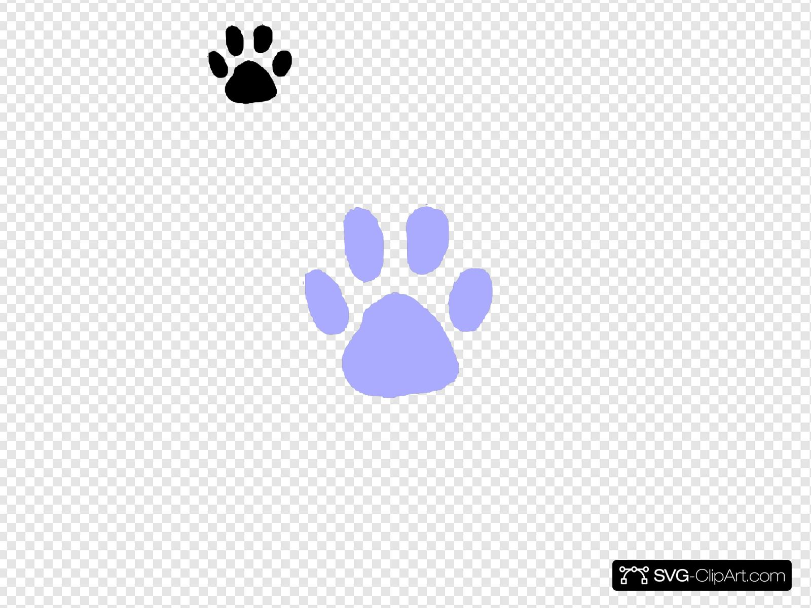 Purple Paw Print Svg Vector Purple Paw Print Clip Art Svg Clipart All paw clip art are png format and transparent background. svg clipart