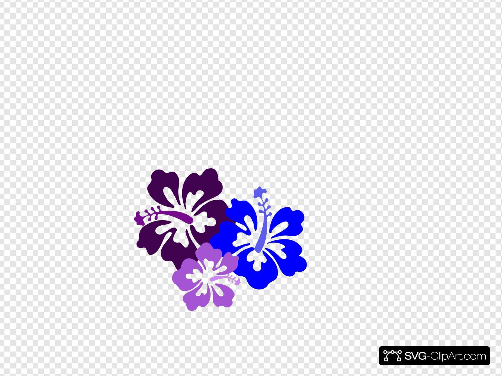 Hibiscus 15 SVG Vector, Hibiscus 15 Clip art - SVG Clipart