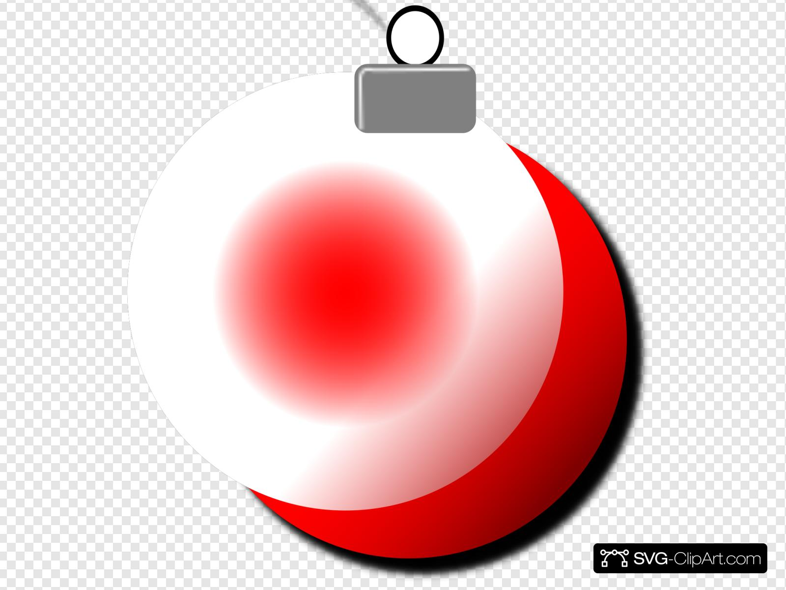 Red Christmas Ornament Svg Vector Red Christmas Ornament Clip Art Svg Clipart