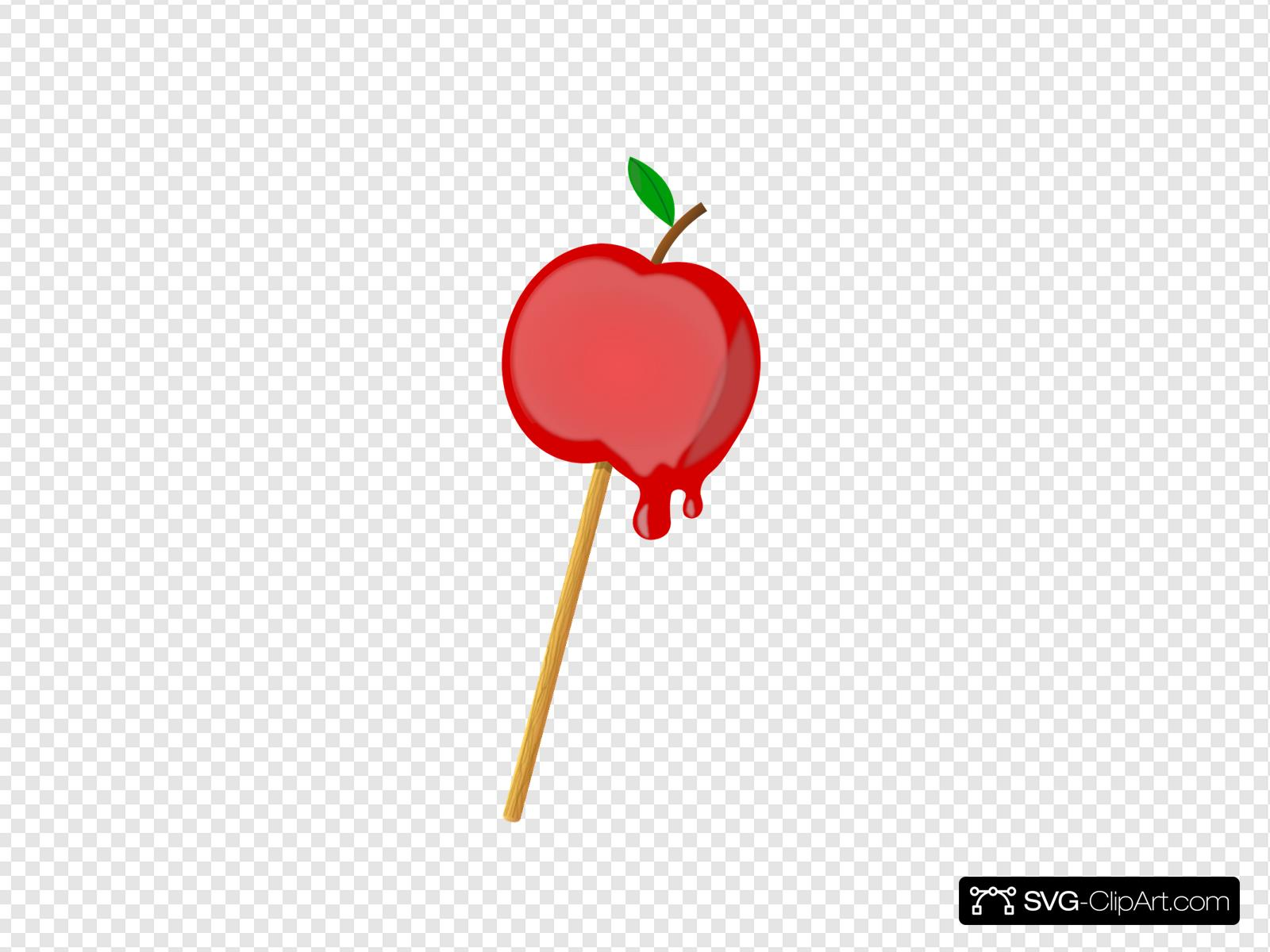 Candy Apple Svg Vector Candy Apple Clip Art Svg Clipart