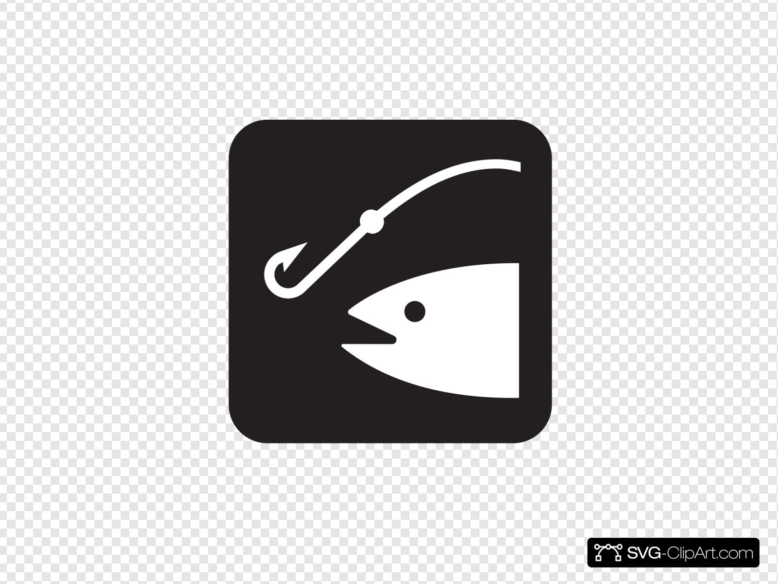 Download Fishing Black Svg Vector Fishing Black Clip Art Svg Clipart