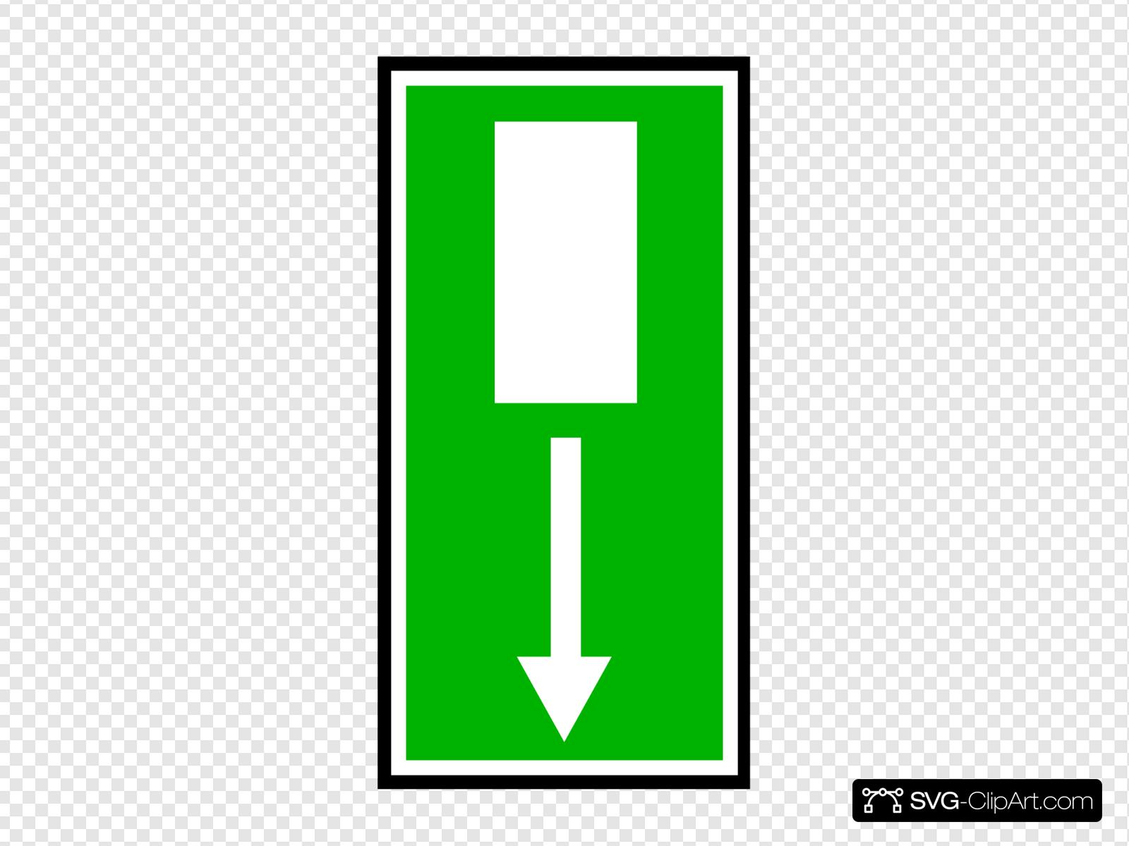 Exit Sign Stock Vector Illustration And Royalty Free Exit Sign Clipart