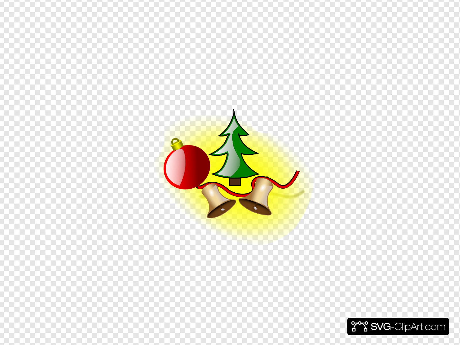 Christmas Bells Clipart.Christmas Bells Clip Art Icon And Svg Svg Clipart