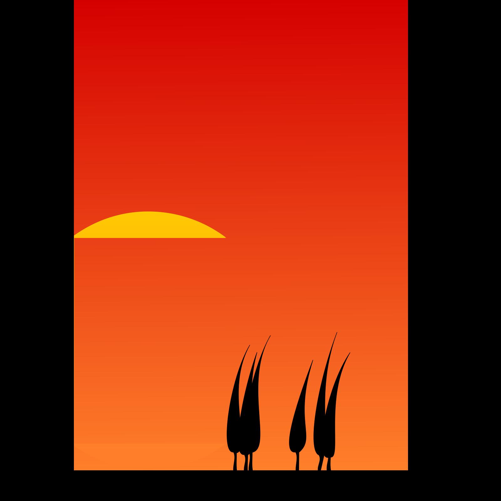 Yellow orange sunset background - Download Free Vectors, Clipart Graphics &  Vector Art