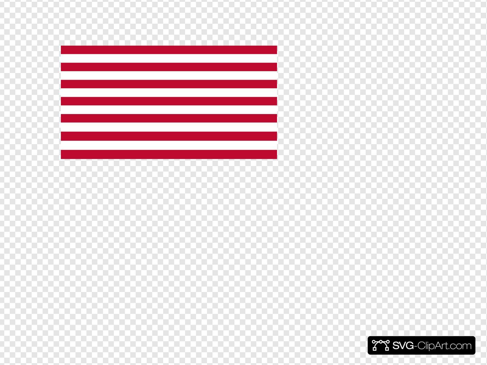 Red White Stripes Flag Clip Art at Clker.com - vector clip art online,  royalty free & public domain