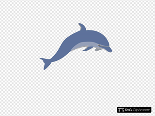 Dolphin 3 SVG Cliparts