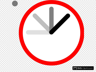 Ticking Clock Frame 8