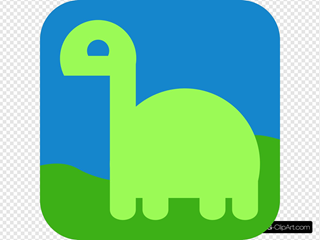 Cute Dinosaur SVG Clipart