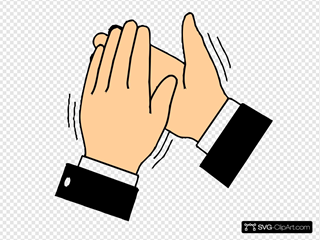 Clapping Hands SVG icons