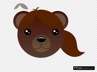 Brown Female Bear