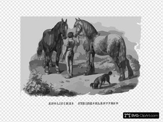 English Steinkohle Horse
