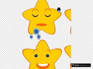 Yellow Stars Emotions