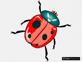 Diagonal Ladybug