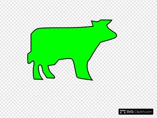 Farm Animal Outline