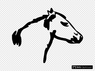 Horse Head SVG Cliparts