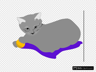 Gattina Cat SVG Cliparts