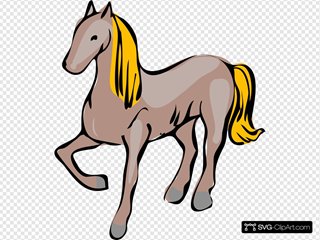 Posing Horse