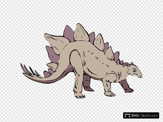 Dinosauri SVG Cliparts