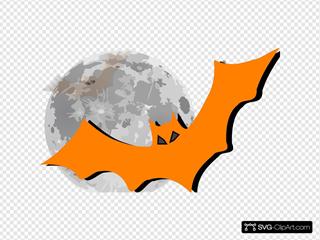 Bat In The Moonlight