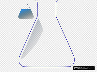 Chemistry Flask SVG Cliparts