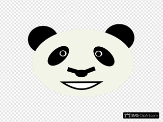 Happy Panda Bear